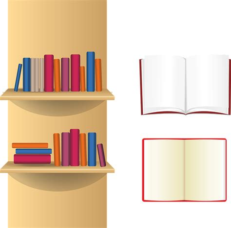 On The Shelf Book Free by Free Vector Graphic Book Shelf Books Library Free