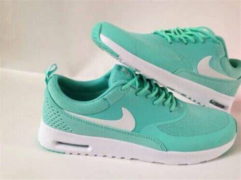 mint green nike sneakers shoes nike running shoes nike shoes for mint