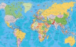 Big Map Of The World by World Political Map Images