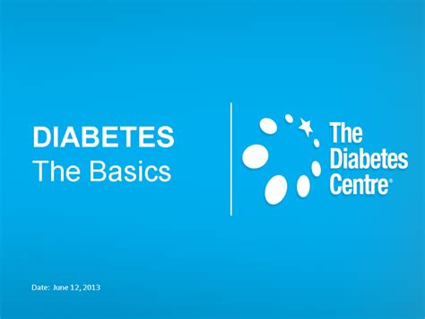 Tdc Diabetes Presentation July 12 2013 Pptx Powerpoint Diabetes Powerpoint Template