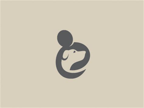 dog charity logo by louis d wiyono wizmaya dribbble