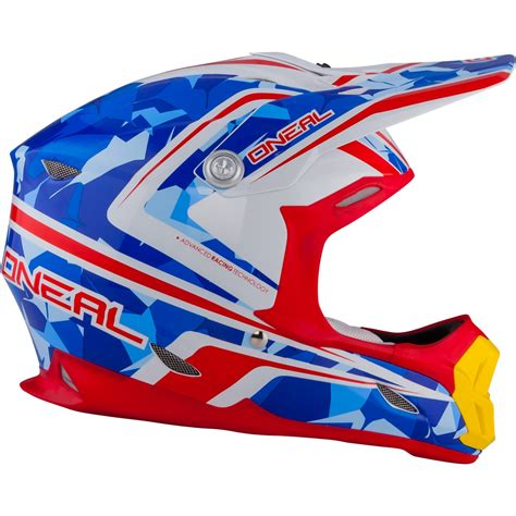 blue motocross helmet oneal 7 series camo white blue motocross helmet bike
