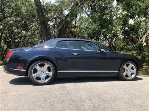 2007 bentley continental convertible 2007 used bentley continental gt 2dr convertible at a