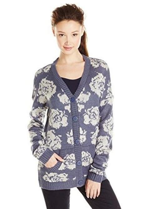 Sweater Volcom Original Kode Klo Volcom 1 on sale today volcom volcom s hunny bunny printed cardigan sweater shop it to me