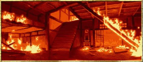 house on fire gif fire house gif fire house building discover share gifs