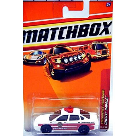 matchbox chevy impala matchbox chevrolet impala chief car global diecast