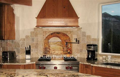 kitchen wall backsplash tuscan backsplash tile wall murals tiles backsplashes