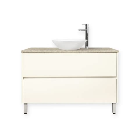 Forme Vanities Forme 900mm Antique White Colourstone Quay Organic Floor