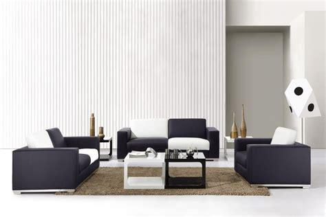 0894 modern white and black sofa set black design co