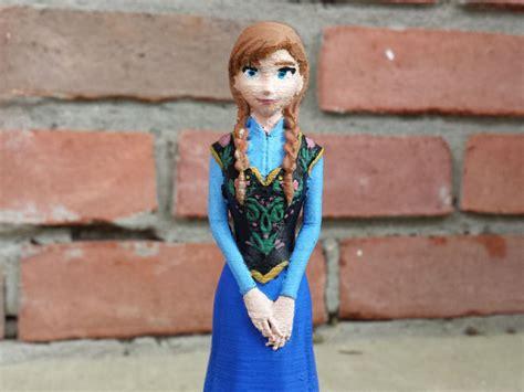 anna cg disneys frozen anna