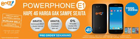 Bolt Power Phone E1 Bumper bolt hadirkan powerphone e1 zte blade q harga 1 jutaan gadgetren