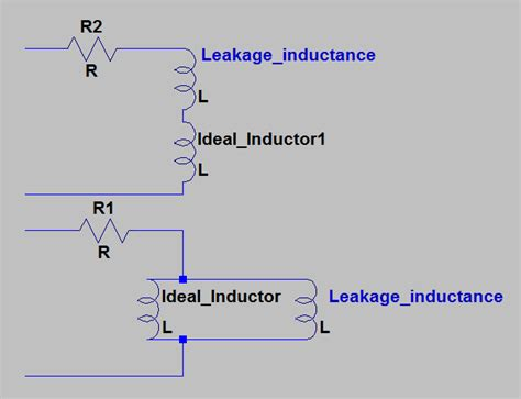 inductance leakage modeling an inductor physics forums the fusion of science and community