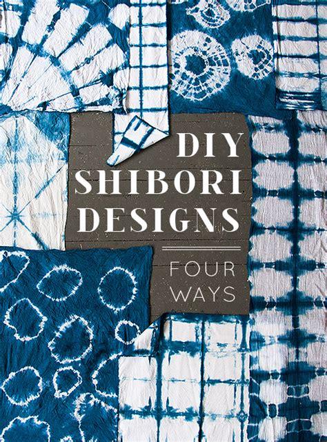 diy shibori designs  ways designsponge