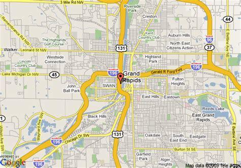 map usa grand rapids grand rapids map my