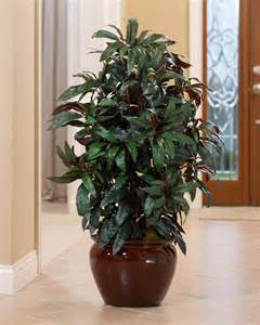 artificial mango floor plant for home decorating at petals