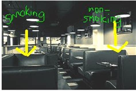 Tobacco Free Michigan A Non Smoking Section In A