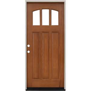 36 Front Door Single Door Wood Doors Front Doors Exterior Doors The Home Depot