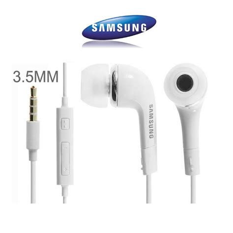 Headset Samsung Ace 3 Ehs64avfwe Samsung 3 5mm Ehs64 Stereo Headset With Remote