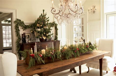 dining table for 8 rustic decorated christmas trees 21 christmas dining room decorating ideas with festive flair