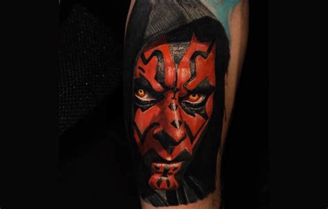 15 darth maul tattoos for all you sith lords tattoodo