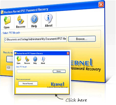 windows reset password kernel panic free outlook password recovery utility to recover deleted