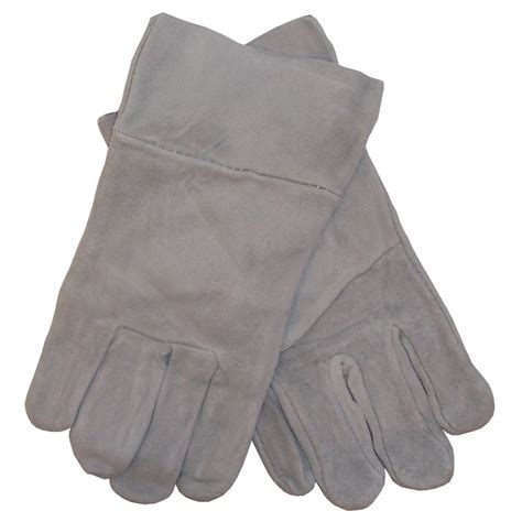 chrome leather safety zone large work tuff chrome leather gloves
