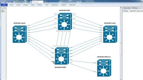 automated visio network diagram diagrams automatically laying out visio network topology