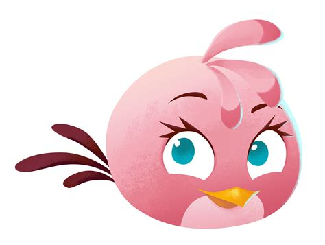 Stelan Angry Bird angry birds stella character stella rovio entertainment