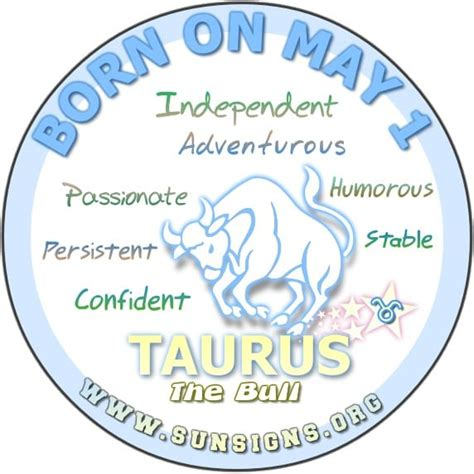 may 1 birthday horoscope personality sun signs