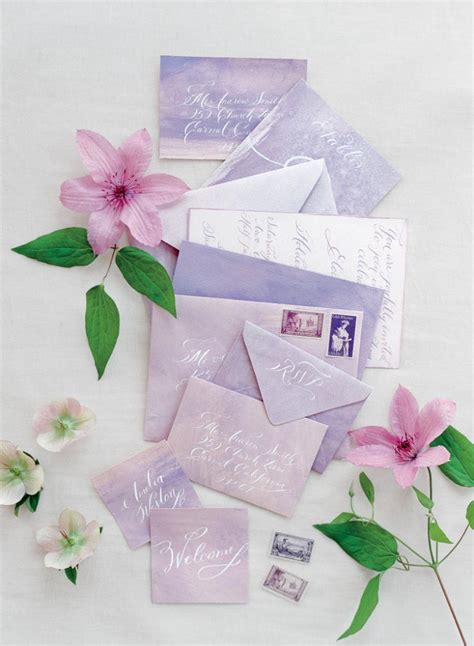 Summer Wedding Invitations by Summer Wedding Inspiration