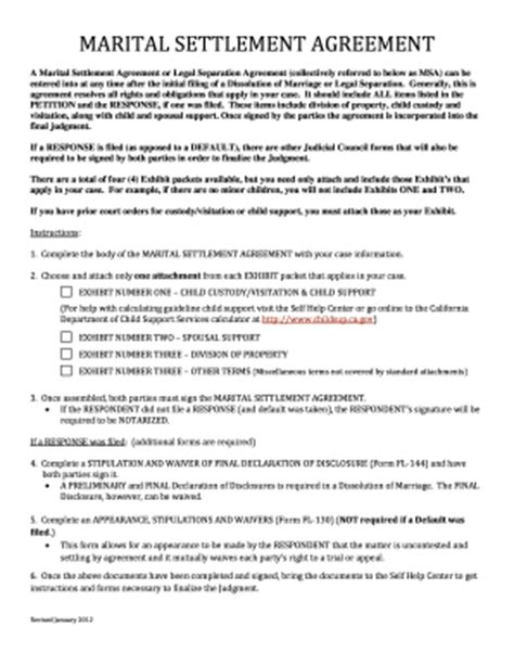 Free Separation Agreement Form Templates Fillable Printable Sles For Pdf Word Pdffiller Llc Separation Agreement Template