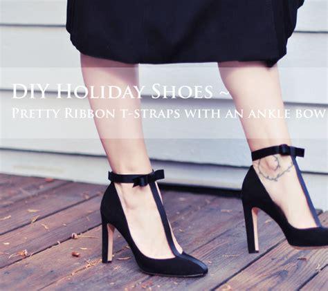 diy pumps shoes diy shoes pretty t pumps with ankle bows