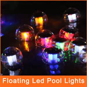 outdoor decorative lights solar powered l floating led pool lights led for