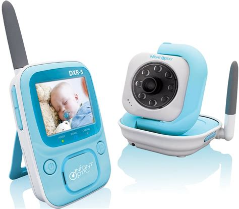 monitor baby infant optics dxr 5 2 4 baby monitor vision baby