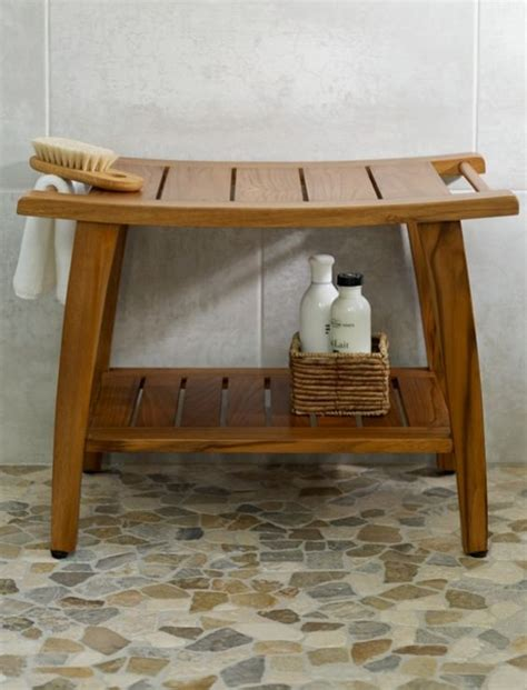 Bathroom Bench Ideas Teak Shower Bench Shower Benches Teak And Benches