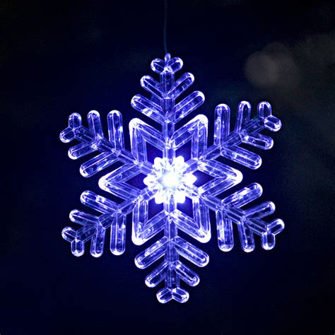lighted outdoor snowflake ornament design 2 size 6
