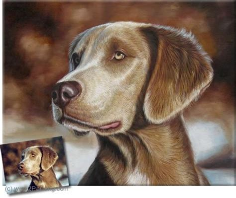 dogs painting portrait painting dogs paintings from photos