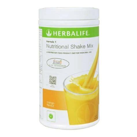 Teh Mix Herbalife herbalife formula 1 herbalife formula 1 nutritional shake mix mango flavour