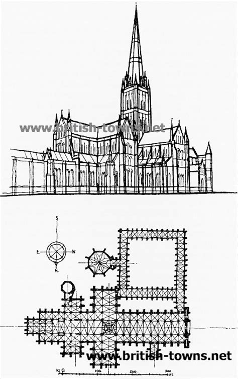 salisbury cathedral floor plan salisbury cathedral section www pixshark com images