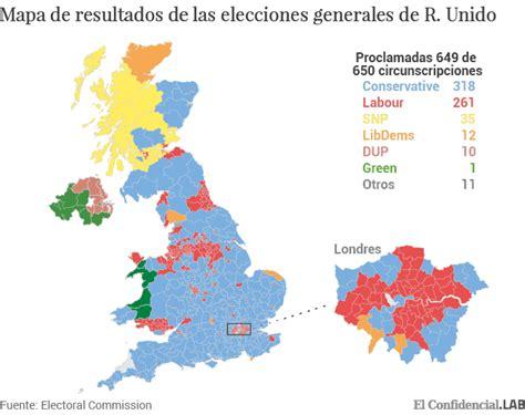 moraleja del resultado de las elecciones de usa resultados elecciones reino unido 2017 mapa de resultados