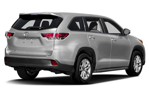toyota suv cars 2016 toyota highlander price photos reviews features