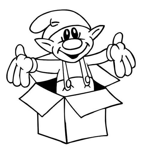 sweet tiny elf giving  christmas surprise  christmas