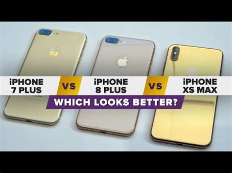 iphone xs max dorado vs iphone 8 plus y iphone 7 plus cu 225 l luce mejor ruclip rutube