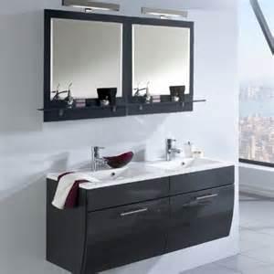 badezimmer waschplatz badezimmer waschplatz set hochglanz anthrazit badm 246 bel