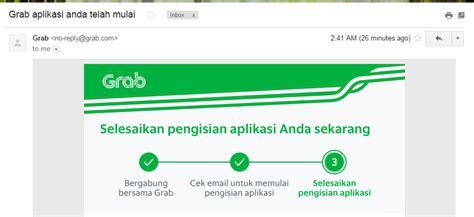 email grab cara pendaftaran driver grabcar terbaru 2016