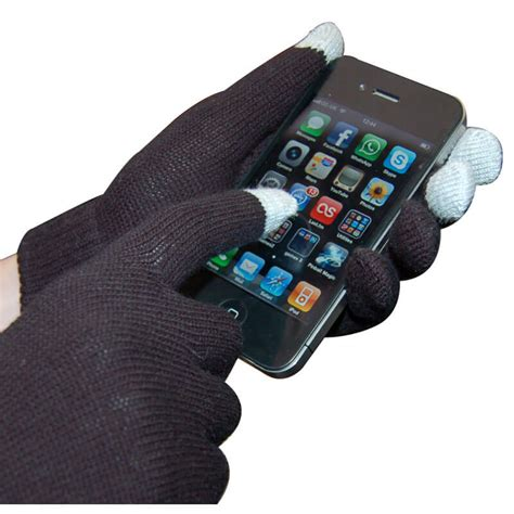 Iglove Touch Gloves For Smartphones Tablet Black Limited smart glove touch glove for iphone buy from prezzybox