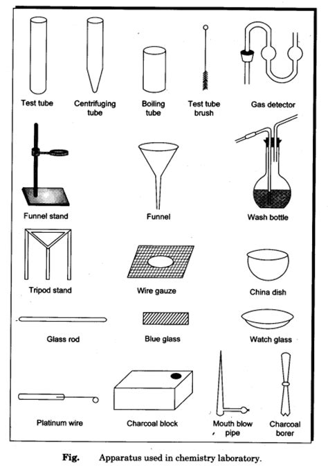 Uses Of L In Laboratory Apparatus by Introduction To Basic Laboratory Equipment Cbse Class 12