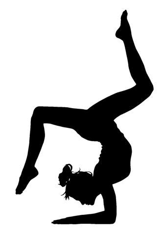 printable gymnastics stencils gymnastics pumpkin template gymnastics pinterest
