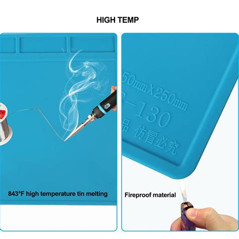 kaisi s 130 heat insulation silicone pad