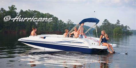hurricane deck boat parts and accessories hurricane deck boats sundeck sport for sale at anchor